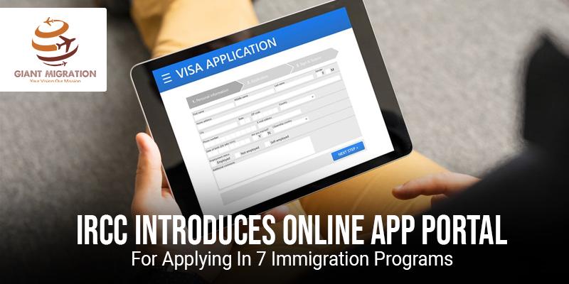 IRCC Introduces Online App Portal